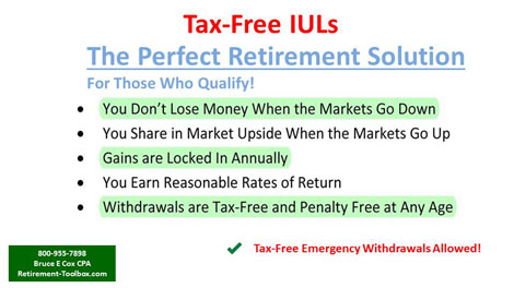 Tax-Free IULs, The Perfect Retirement Solution